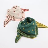 寶寶圍脖冬季保暖兒童圍巾秋冬三角巾可愛男童女童兒童雙面圍巾潮