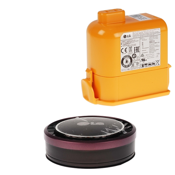 【LG耗材】A9K電池+紫色HEPA濾網 優惠組合