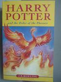 【書寶二手書T1/原文小說_NOJ】 Harry Potter and Order of the Phoenix_J K Rowling