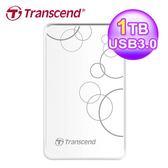 【Transcend 創見】SJ25A3W 1TB 2.5吋 外接硬碟
