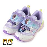日本月星 MoonStar 迪士尼 冰雪奇緣 電燈鞋 中童 紫 NO.R7071(DNC12831)