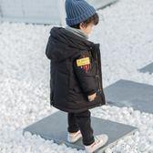 男童棉衣童裝兒童羽絨棉服中長款小童冬裝外套寶寶棉襖潮 盯目家