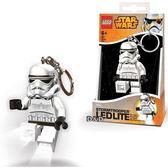 【 樂高積木 LEGO 】LED 鑰匙圈 - 星際大戰 - 白兵╭★ JOYBUS玩具百貨