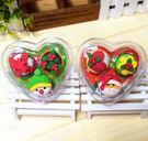 新品 聖誕系列橡皮擦 3入裝 小甜點心型盒裝  想購了超級小物