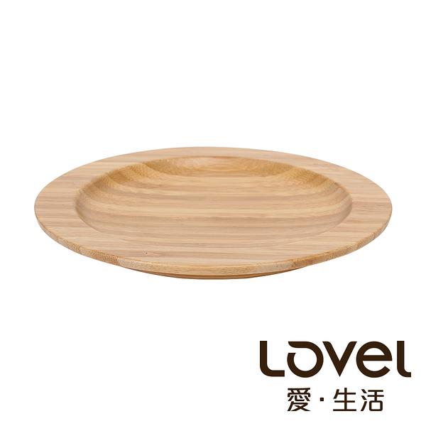 LOVEL 圓形竹製餐盤15.8cm