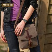 【TROOP】皇家貴族DORCHESTER單肩包/TRP0356BN(棕色)