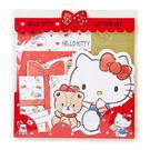 Sanrio  HELLO KITTY繽紛造型信紙組  手繪小熊★funbox★_768944N