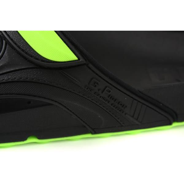 GP (Gold.Pigon) 阿亮代言 拖鞋 雨天 綠/黑色 男鞋 G9030M-60 no035