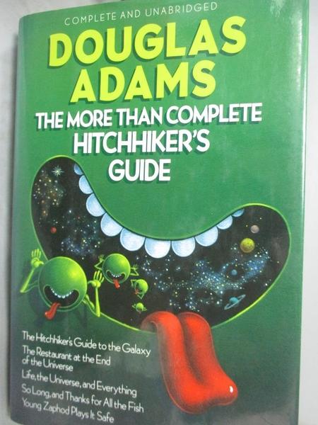 【書寶二手書T4/原文小說_YGG】The More Than Complete Hitchhikers Guide_D