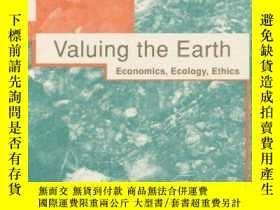 二手書博民逛書店Valuing罕見the Earth: Economics, Ecology, Ethics-重視地球:經濟學、生