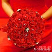 如意結婚用品婚慶手捧花婚禮新娘手拋花球 創意新人仿真手捧花 晴天時尚館