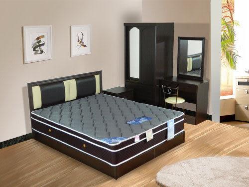 床墊 3D立體透氣3.5尺單人加大獨立筒床【時尚屋】