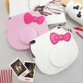 PGS7  富士 拍立得 皮套 - Mini Hello Kitty 頭型拍立得 40周年紀念款 專用皮套 相機包【SCC5010】