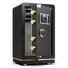 保險櫃 CRN希姆勒保險櫃家用小型防盜指紋密碼80cm高辦公室保險櫃1米大型保險箱入牆 快速出貨