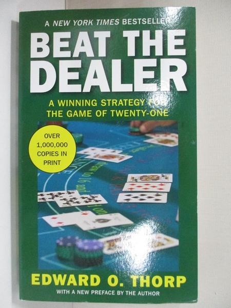 【書寶二手書T1/嗜好_HY2】Beat the Dealer_Thorp, Edward O.