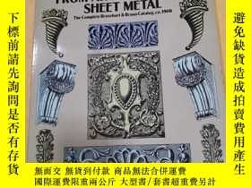 二手書博民逛書店Ornamental罕見Designs from Architectural Sheet Metal【裝飾設計從建