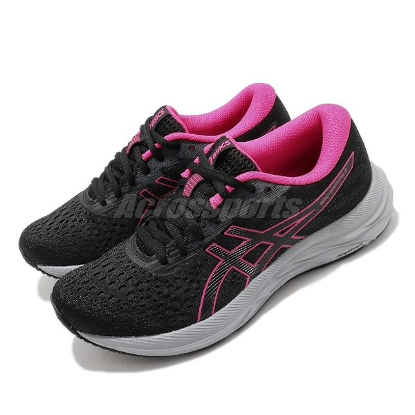 Asics 慢跑鞋 Gel-Excite 7 黑 粉紅 女鞋 跑步 路跑 運動鞋 【ACS】 1012A562005
