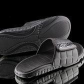 [穿斷換給你]男鞋 棒球鞋魔鬼氈全黑懶人鞋運動拖鞋【ZABWAY】涼鞋
