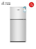 小冰箱雙門小型雙開門家用冷凍冷藏宿舍租房用節能電冰箱靜音 220V 亞斯藍