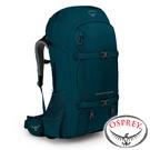 【美國OSPREY】Farpoint Trek55 自助旅行背包 55L『汽油藍』10002195 後背包.大背包.健行.多口袋