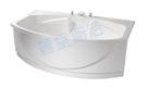 【麗室衛浴】BATHTUB WORLD 長型壓克力浴缸 LS-7189F 帶牆 180*89*60cm