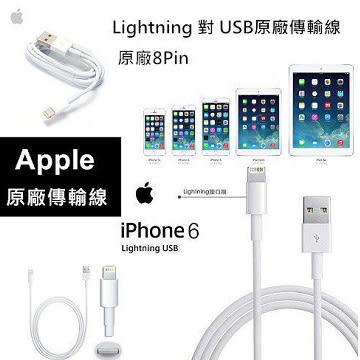 【YUI】Apple iPad mini2 / mini3 / Air 2 Lightning 8pin iPhone 6s / 6s Plus 原廠傳輸線(裸裝) 充電線