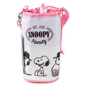 SNOOPY保冷水壺袋(家族粉)★funbox★SHO-BI_SB04686