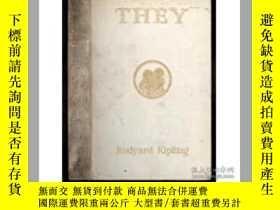 二手書博民逛書店罕見They(吉卜林《他們》,諾獎得主,F.H.Townsend