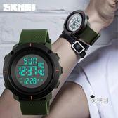 電子男錶青少年大錶盤男士手錶防水夜光數字式戶外運動男中學生電子錶男錶