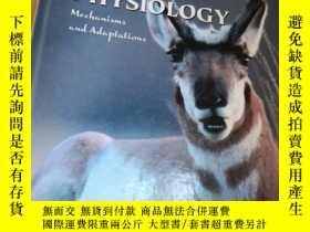二手書博民逛書店Eckert罕見Animal Physiology: Mecha
