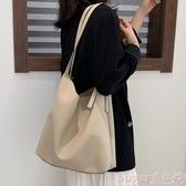托特包大包女2020年新款包包韓版ulzzang女包側背包大容量高級感托特包 交換禮物