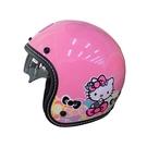 【東門城】華泰 K806S KT020(雙鏡) hello kitty 粉紅 復古帽