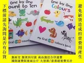 二手書博民逛書店計數罕見+顏色 one by one colours + one