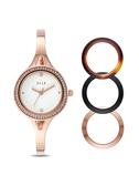 【ELLE】/可換殼手鏈式腕錶套組(男錶 女錶 Watch)/ELL27001/台灣總代理原廠公司貨兩年保固