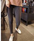 夏季灰色打底褲女外穿高腰薄款九分