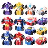 蒙巴迪變形玩具金剛汽車套裝迷你大黃蜂擎天機器人戰士模型6男孩