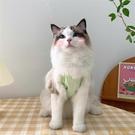夏日愛心格子寵物吊帶韓版IG狗狗貓咪衣服夏季薄款防掉毛背心【小狮子】