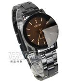 KEVIN 晶鑽時尚流行錶 立體多角切割鏡面 學生錶 防水手錶 IP黑電鍍 女錶 KV2068鑽黑小