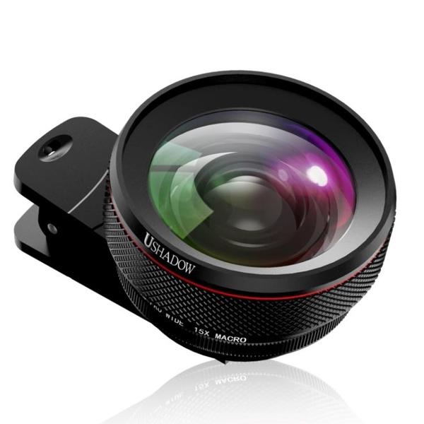 手機鏡頭通用單眼相機高清專業外置攝像頭攝影神器高倍廣角微距  聖誕節免運