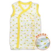 DL無袖點點透氣網眼肚衣 夏季涼感 純棉透氣 親膚 新生兒服 紗布衣 嬰兒服 和尚服 蝴蝶衣【GA0030】
