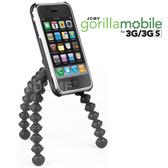 JOBY 勾樂拍 Gorillamobile GP1 章魚腳架 (GM2) 附快拆板 (正成公司貨) 附手機夾適用 iPHONE 3G 3GS