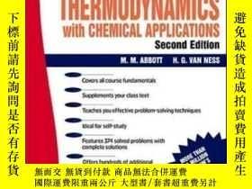 二手書博民逛書店Schaum s罕見Outline Of Thermodynamics With Chemical Applica