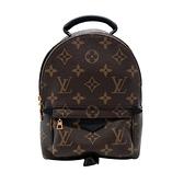 【台中米蘭站】全新品 Louis Vuitton Palm Springs Mini Monogram 迷你後背包(M44873-咖)