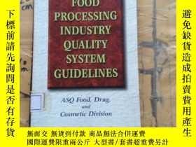 二手書博民逛書店Food罕見Processing Industry Qualit
