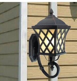 設計師美術精品館熱銷歐式仿古戶外壁燈 高檔家居壁燈 園林陽台過道牆壁燈燈具定制