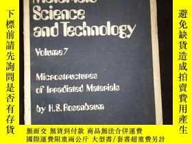 二手書博民逛書店Treatise罕見on Materials Science and Technology Volume 7Y
