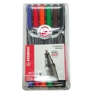 【奇奇文具】STABILO思筆樂 843/6色M/1.0mm永久性萬用油性筆