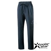 PolarStar 女 輕便彈性排汗九分褲『黑』P21322 戶外 休閒 登山 露營 運動褲 釣魚褲