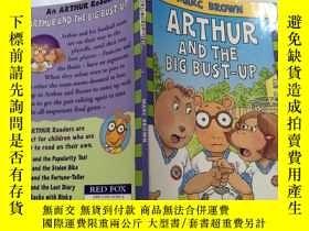 二手書博民逛書店Arthur罕見and the big bust-up 亞瑟和大爆炸Y212829