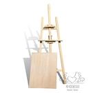 畫架 木畫板套裝實心畫板畫架木制素描寫生板繪畫展示架xw